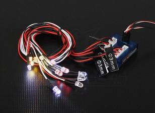 Système HobbyKing échelle voiture LED