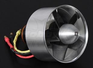 64mm HobbyKing alliage EDF 4000kv - 850w (4s - Outrunner Version)