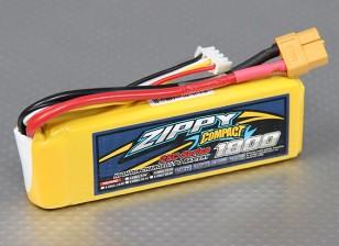 ZIPPY Compact 1800mAh 3S 25C Lipo Paquet