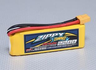 ZIPPY Compact 2200mAh 2S 25C Lipo Paquet
