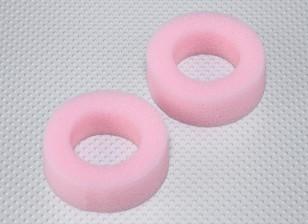 Foam Inserts pneus pour 26mm RC Car Wheels - Soft Compound (2pcs)