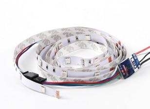 9 Mode multi Couleur / Multi Function bande de LED avec unité de contrôle