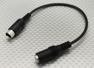 Esky / Storm / WFLY Transmetteur Plug Adapter 3.5mm Mini DIN4 pour Flight Simulator