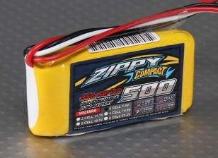 ZIPPY Compact 500mAh 2S 35C Lipo Paquet