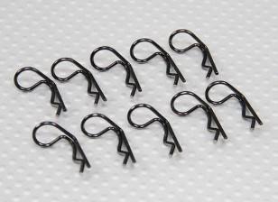 Petit-ring 90 Clips Deg Body (Noir) (10Pcs)
