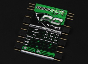 Turnigy Multistar ESC Programmation Card