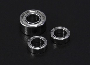 Turnigy Aerodrive SK3 3536/3542/3548/4240/4250 / Série DT30XL Ball Bearing Replacement Set (3pcs / sac)