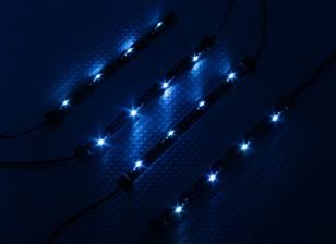 7 Mode Système châssis d'éclairage RC voiture (Bleu)