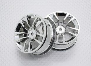 Échelle 1:10 Touring Haute Qualité / Drift Roues RC 12mm Car Hex (2pc) CR-DBSC