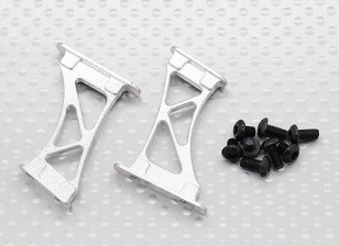 1/10 aluminium CNC Tail / Wing support Frame-Grand (Silver)