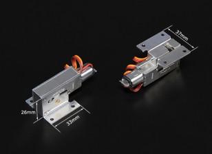 Turnigy Full Metal Servoless 90 degrés Retract Set (pour les modèles jusqu'à 3kg)