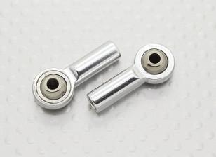 Métal Joints à rotule (filetage à gauche) M4 × 26mm × 3mm - 2pcs