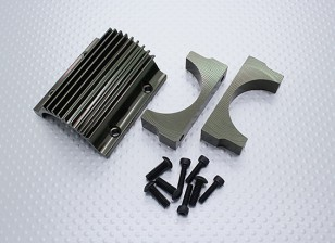 Support de moteur et de refroidissement Fin Set - Nitro Circus Basher 1/8 Scale Monster Truck