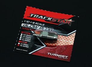 TrackStar 10/01 ~ 08/01 Echelle Turbo Bougie No.8 (MEDIUM)