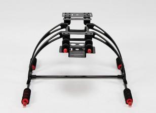 Haute Crab multifonction Care-gratuit FPV Landing Gear Set (Black)
