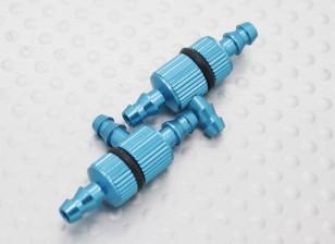 Filtres en aluminium anodisé T-joints (2pcs / sac)