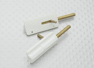 H / Duty Canopy Locks (2pc)