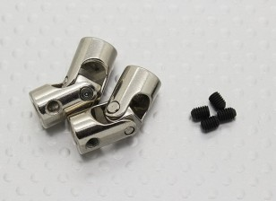 Universal Drive Shaft Accouplement pour bateaux 23mm x 3.17 / 4mm (2pc)
