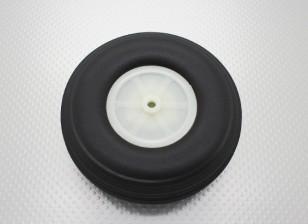 """4.5 """"/114.3mm Ultra Light Rubber PU échelle roue"""
