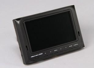 5 pouces 800 x 480 TFT LCD HD FPV Moniteur avec rétro-éclairage Fieldview 555