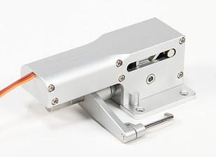 Tous les métaux Servoless 90 degrés direction Nez Rentrez pour les grands modèles (10-12kg)