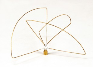 Polarisation circulaire 900MHz Antenne de l'émetteur (SMA) (PCG) (Short)