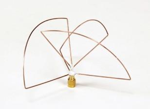 Circulaire 1.2GHz Polarized Transmetteur Antenne (RP-SMA) (PCG) (Short)
