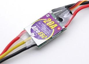 Afro ESC 20Amp multi-rotor du moteur Contrôleur de vitesse (SimonK Firmware)