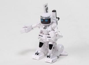 2ch Mini R / C Battle Robot avec chargeur (Blanc)
