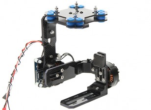 Quanum Mid-Size Brushless Gimbal Construction 4mm Carbon