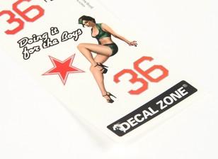 Art Nez - Doing It pour les garçons 250 x 85mm auto-adhésif Decal Set