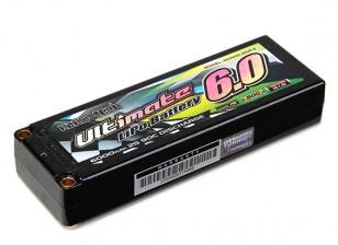 Turnigy nano-tech ultime 6000mAh 2S2P 90C Hardcase Lipo Pack (ROAR & BRCA Approuvé)
