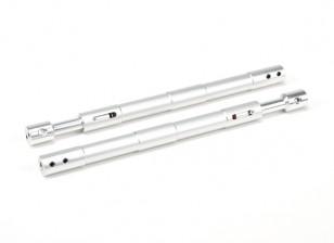 Alliage droite Oleo Struts 140mm (2pcs)