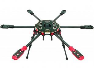 Tarot 680PRO Hexacopter Frame pliant 3K de carbone (KIT)