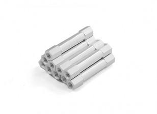 En aluminium léger Round Section Spacer M3 x 29mm (10pcs / set)