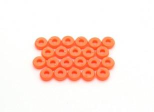 Tarot 450 Pro / Pro V2 DFC M2.5 Canopy Rondelles - Orange (TL2819-02)