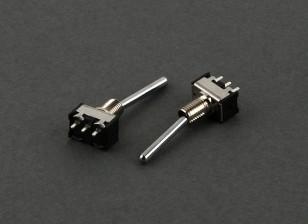 Round Switch 2-Way (Long) (2pcs)