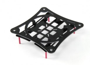 Frame Kit Composite HobbyKing ™ MINIQUAD Cruiser / Racer Carbon