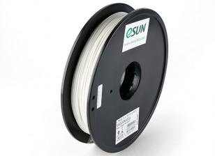 ESUN Imprimante 3D Filament Blanc 1.75mm PLA 0.5KG Spool