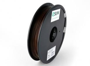 ESUN Imprimante 3D Filament Brown 1.75mm PLA 0.5KG Spool