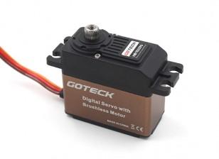 Goteck HB1622S HV numérique Brushless MG High Torque STD Servo 22 kg / 0.11sec / 53g