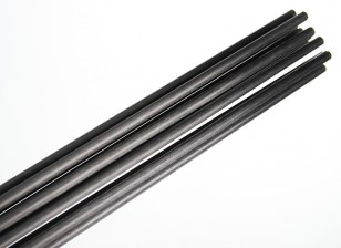 Carbon Fiber Rod (solide) 1x750mm