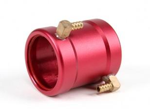 Veste CNC eau de refroidissement pour 28mm In-Runner Motors (Rouge)