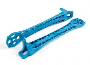 Upswept Upgrade Arms pour DJI Flamewheel style Multirotors V500 / H550 (Bleu) (2pcs)