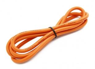 Turnigy haute qualité 12AWG silicone fil 1m (Orange)