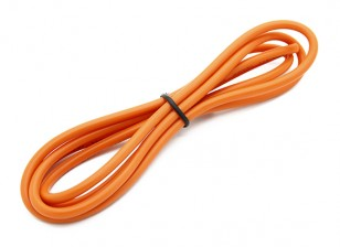 Turnigy haute qualité 14AWG silicone fil 1m (Orange)