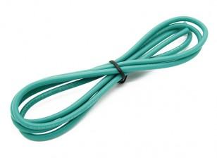 Turnigy haute qualité 16AWG silicone fil 1m (Vert)