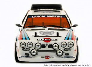 Rally Legends 1/10 Lancia Delta S4 Unpainted Car Shell Body w / Stickers