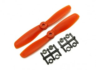 Gemfan Bull Nose BN5045 Hélices CW / CCW Set (Orange) 5 x 4.5