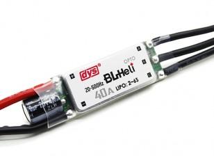 DYS 40Amp Mini Opto BLHeli Multi-Rotor électronique Speed Controller (BLHeli Firmware) SN40A